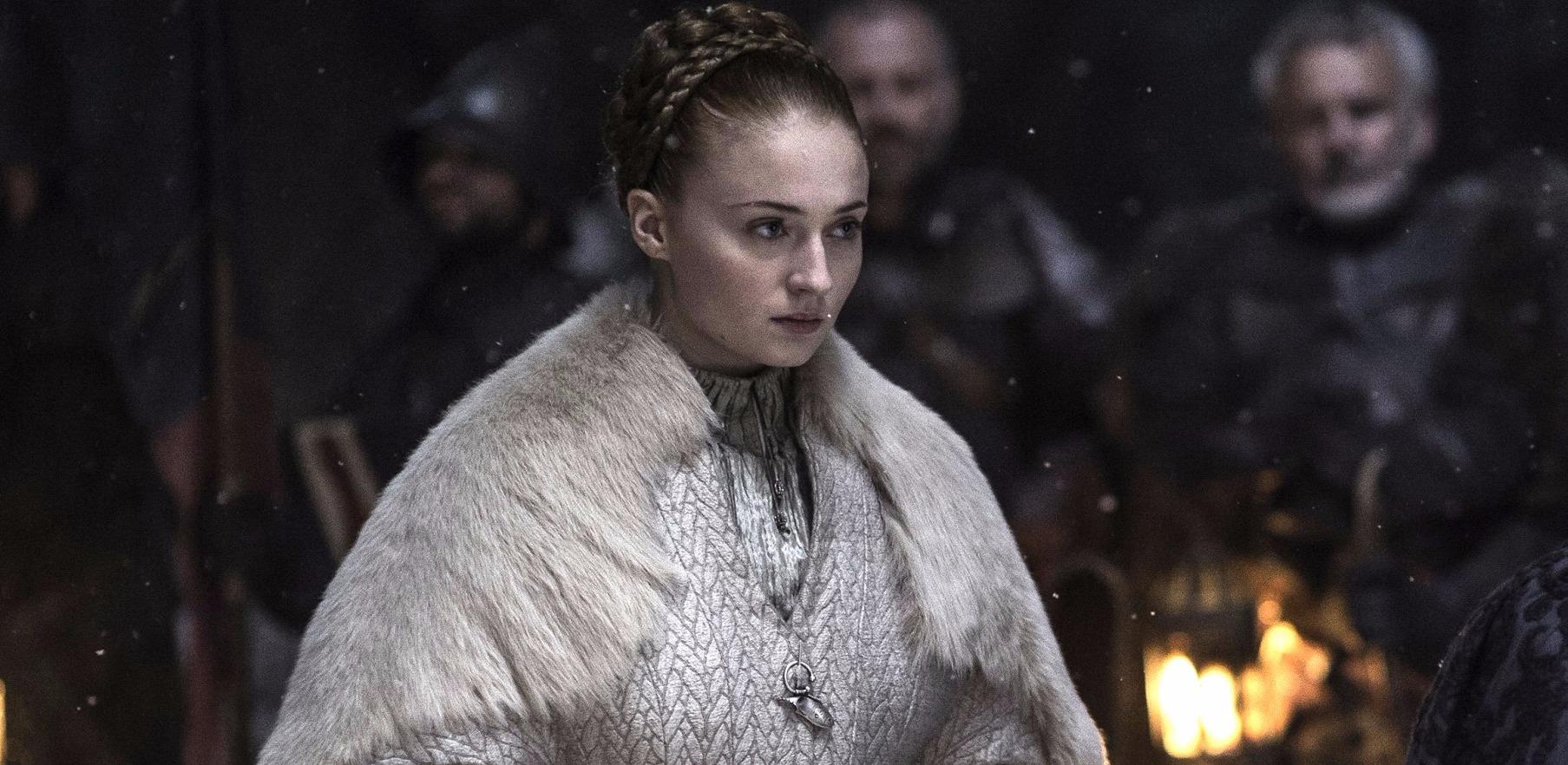 Cersei Saçmalarken, Winterfell Yanarken