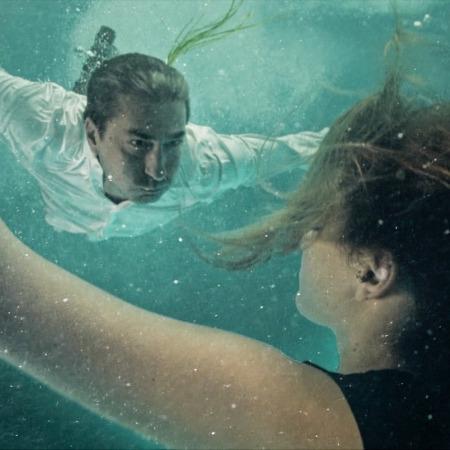 Erkan Petekkaya su altında!